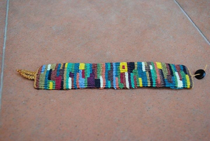 Préférence bracciale macramè multicolor | ilmondodivaleria HA43